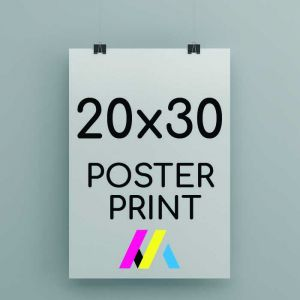 20 x 30inch Poster Printing