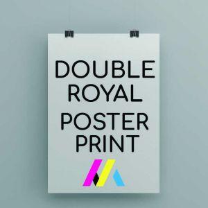 Double Royal Poster Printing