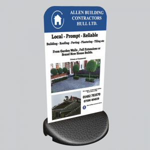 Ecoflex Pavement Signs
