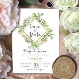 Foiled Invite Cards