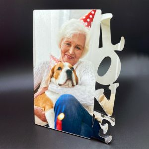 Birthday Love Photo Panel