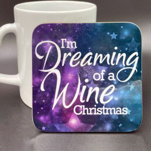 Square Christmas Coaster