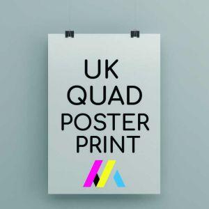 UK Quad Poster Printing
