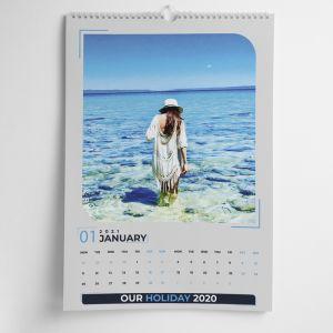 Wall Calendar 2021 - Grey